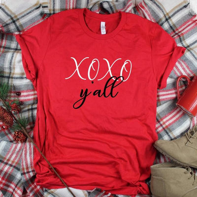 XOXO Y'all Valentine Shirt
