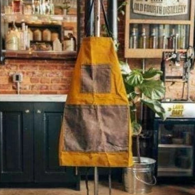 Waxed Canvas Apron - Island Life Monograms