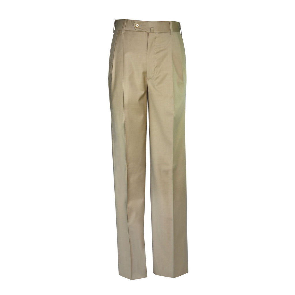 Newport Pleated Front Trouser - Wheat