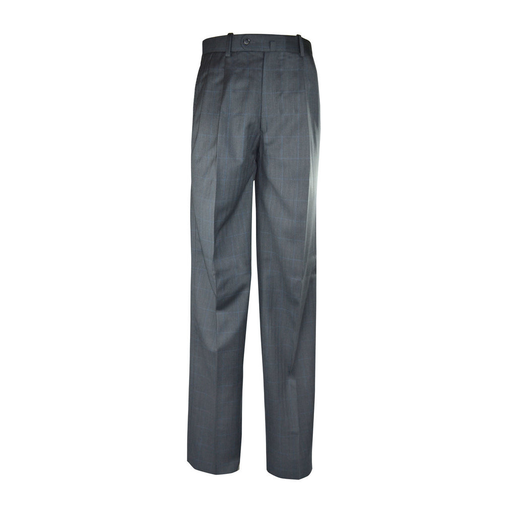 Newport Pleated Front Trouser - Pearl Grey