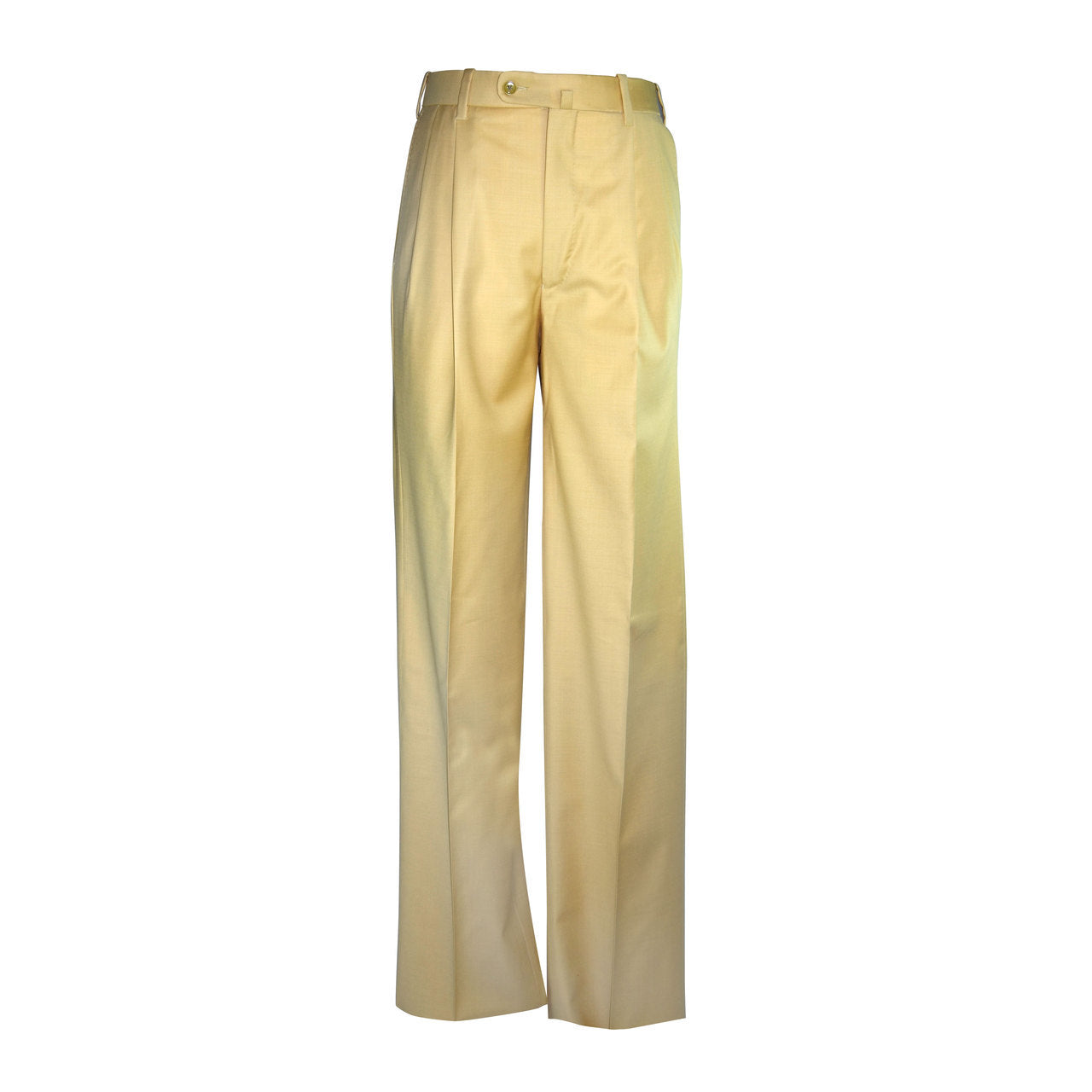 Newport Pleated Front Trouser - Bamboo