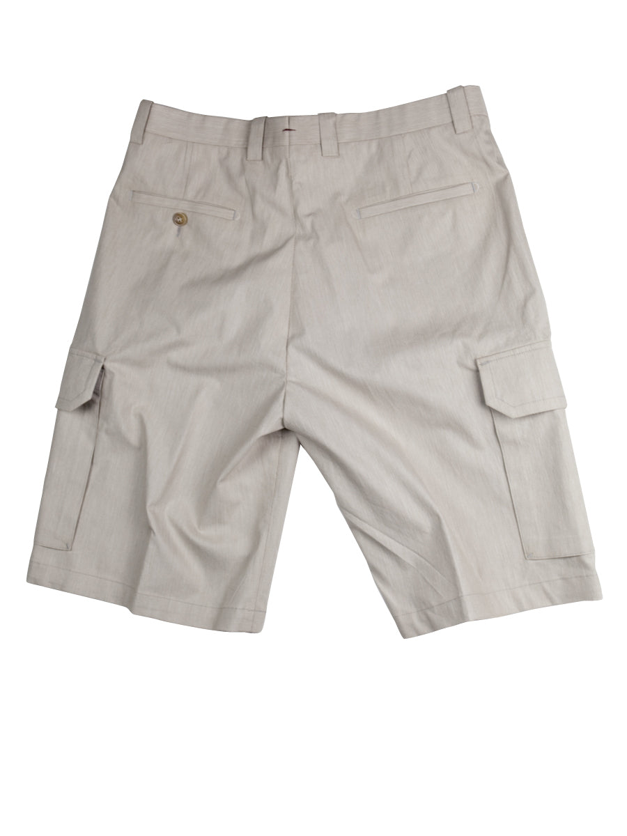 Del Mar 6 Pocket Cargo - Tan	Solid