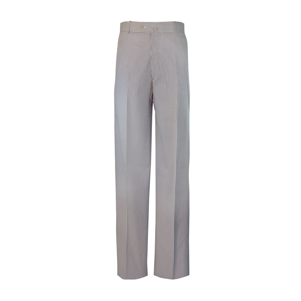 Laguna Flat Front Trouser - Purple