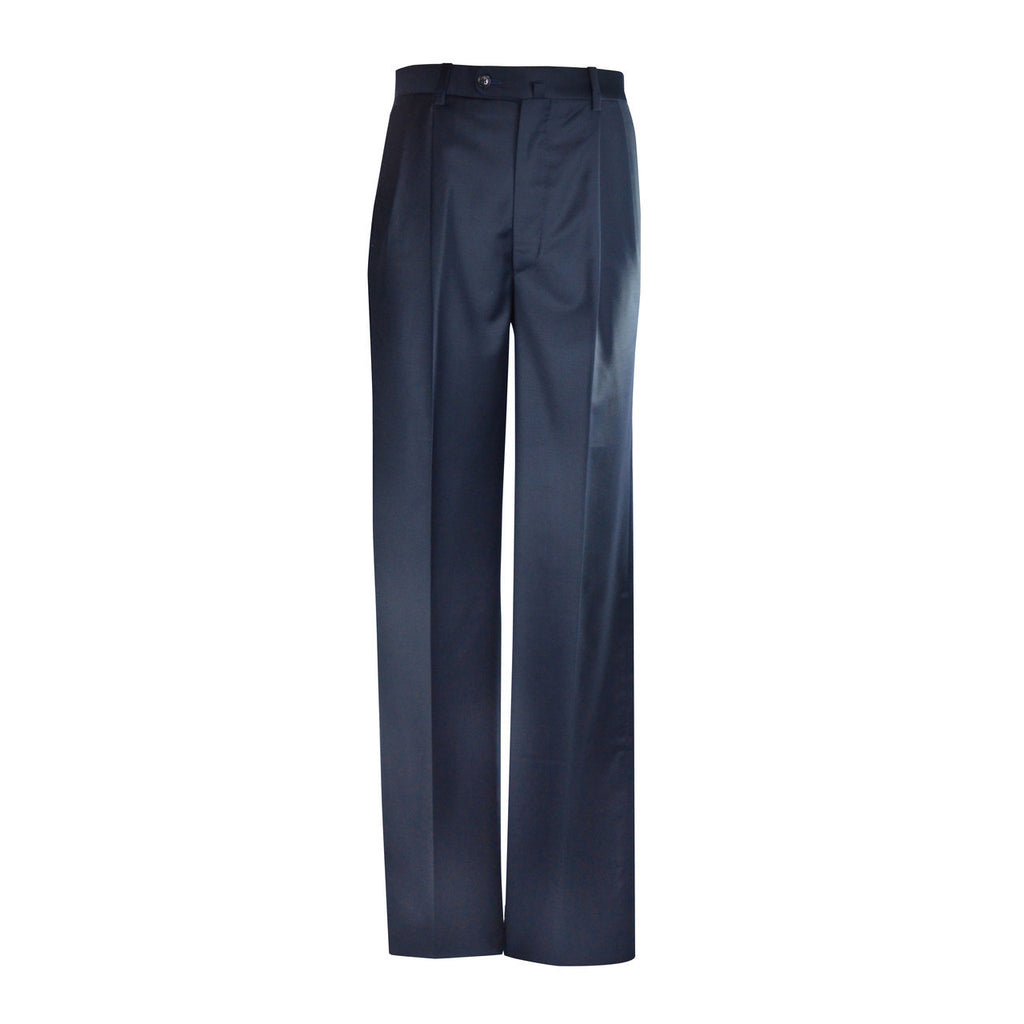 Newport Pleated Front Trouser - Navy