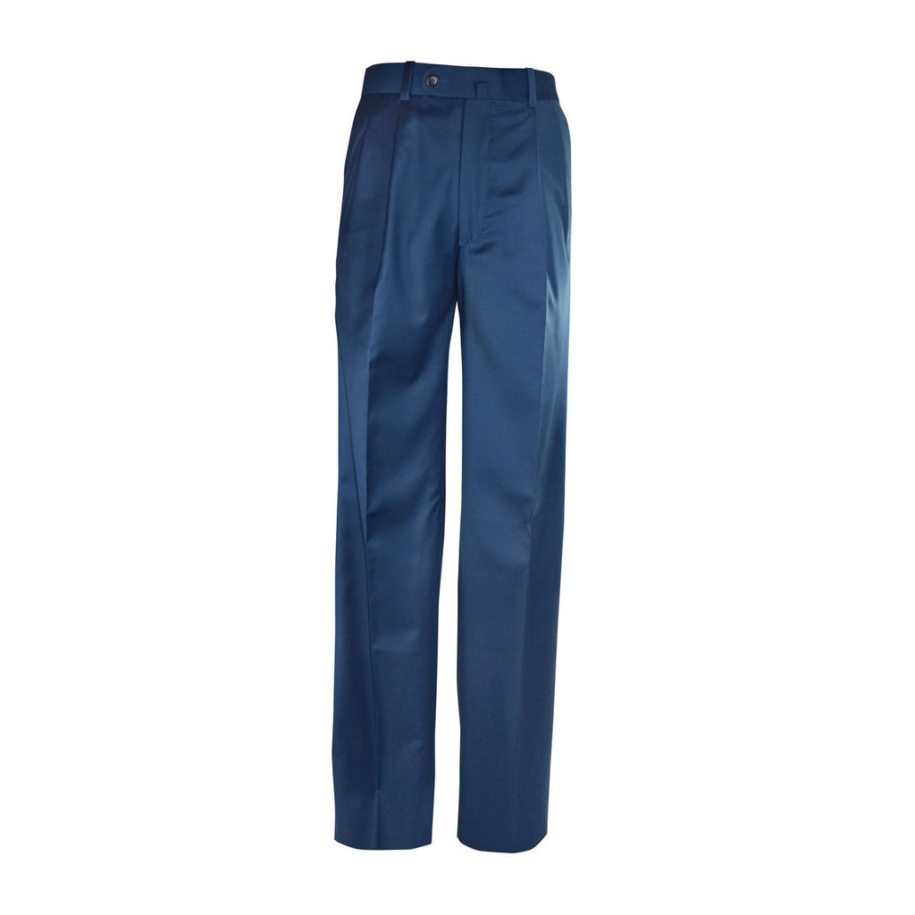 Newport Pleated Front Trouser - New Blue
