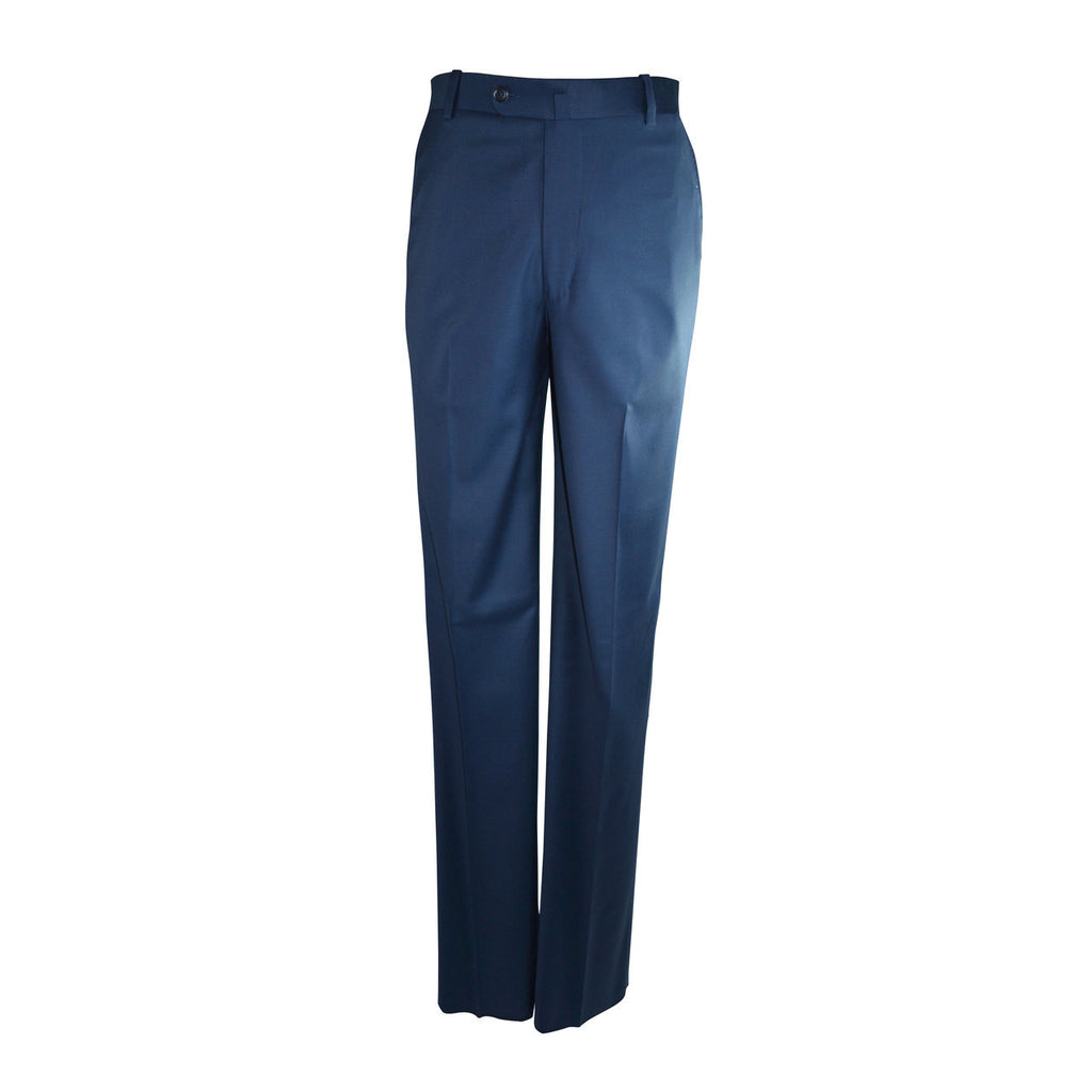 Laguna Flat Front Trouser - New Blue