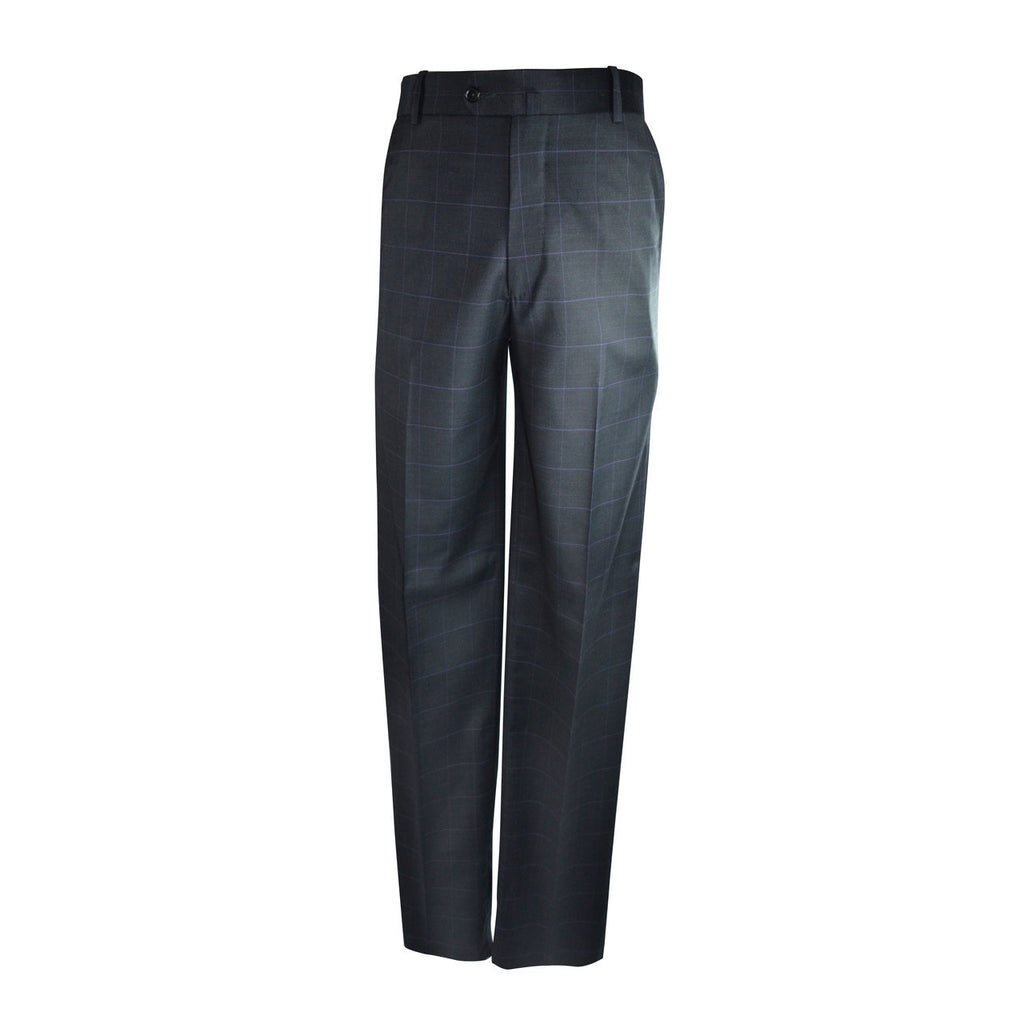 Laguna Flat Front Trouser - Midnight