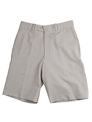 Monterey Flat Front Short - Light Tan Tech