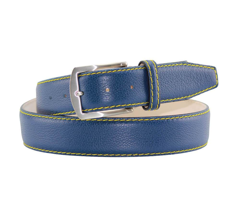 Pebble Grain Belt - Air Force Blue