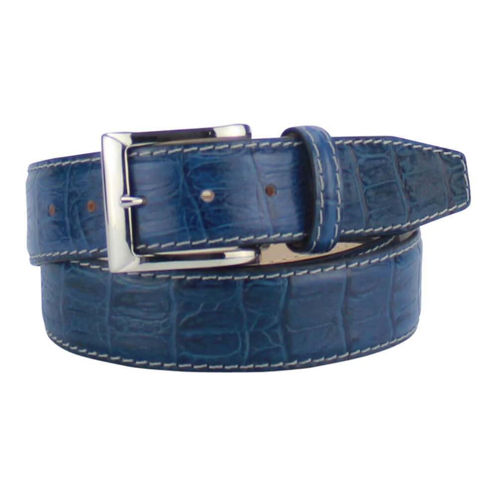 Caiman Alligator Tail - Federal Blue