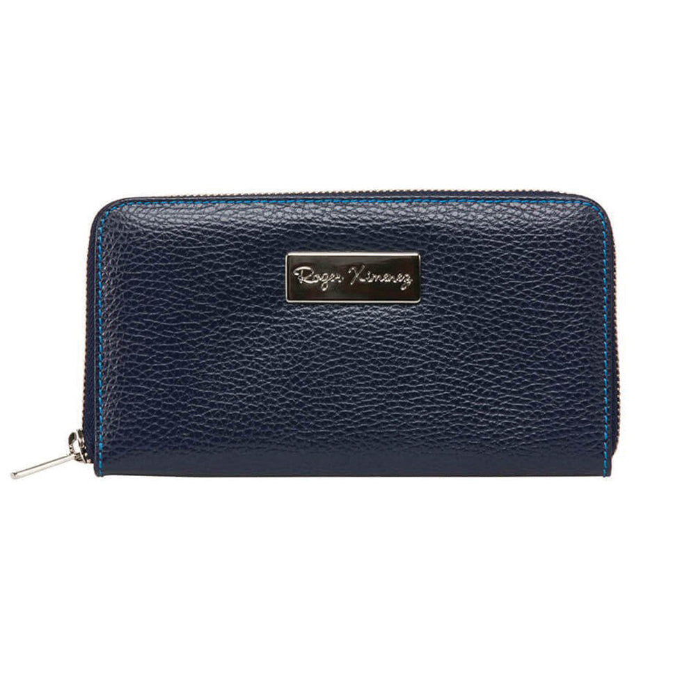 Ladies Pebble Clutch - Navy