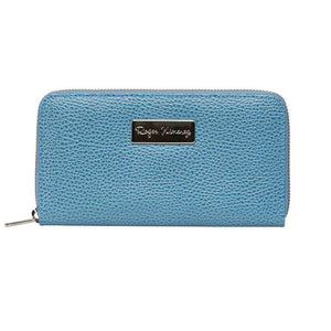 Ladies Pebble Clutch - Blue