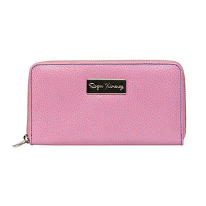 Ladies Pebble Clutch - Pink
