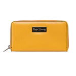 Ladies Pebble Clutch - Yellow