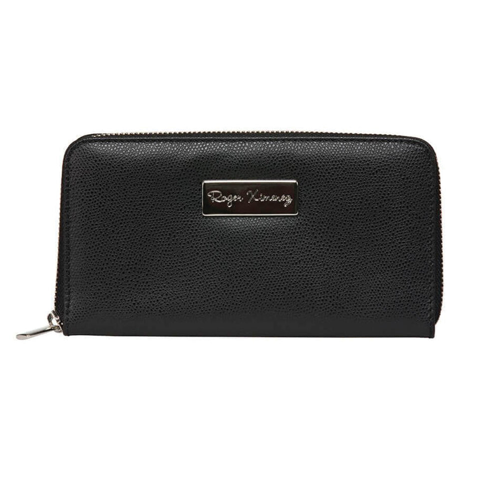 Ladies Pebble Clutch - Black