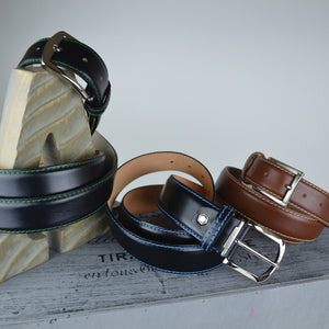 French Calf Belt - Cuero