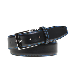French Calf Belt - Black