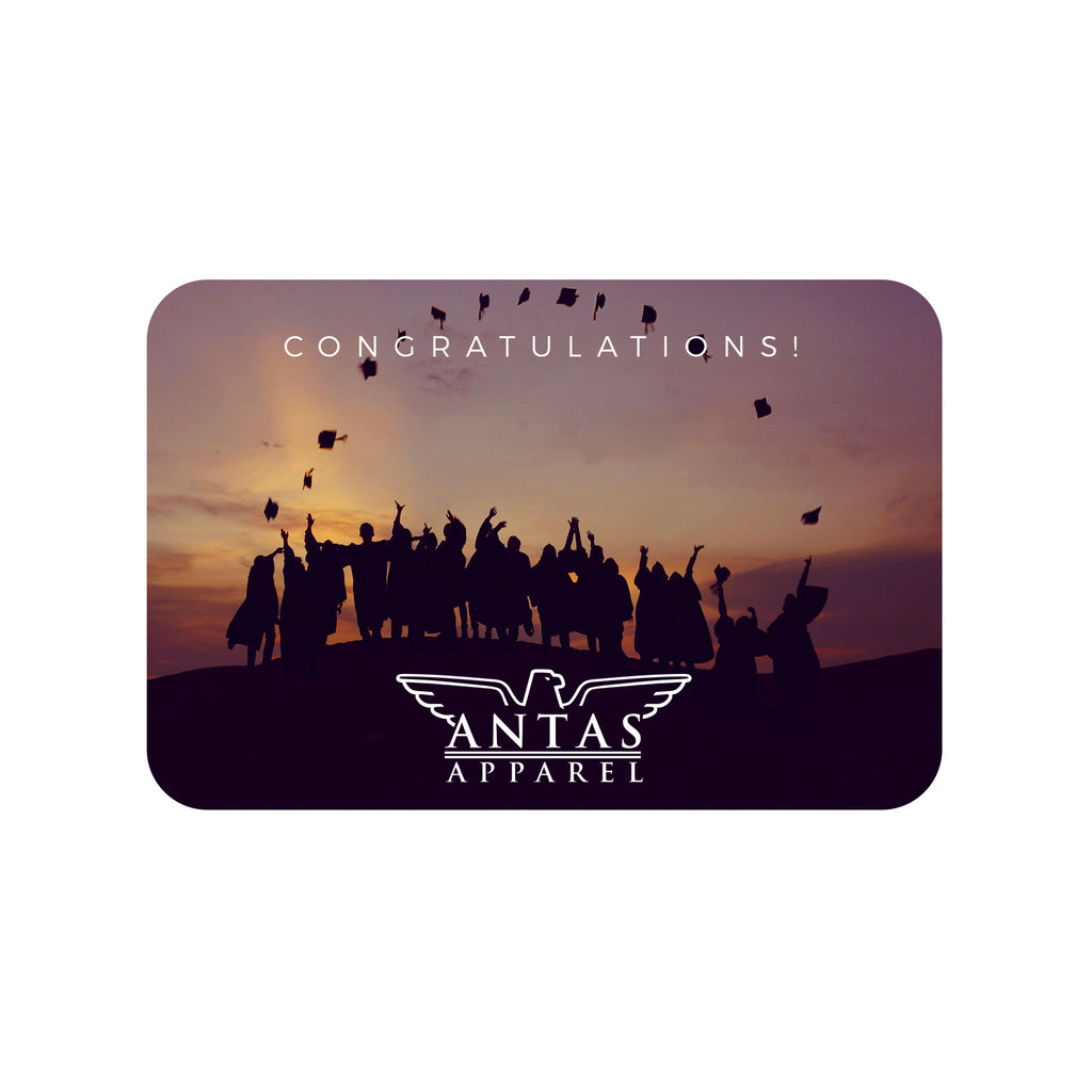 Antas Apparel  Graduation - Gift Card