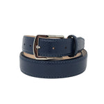 SAMPLE SALE - Pebble Grain Belt - Blue Jean