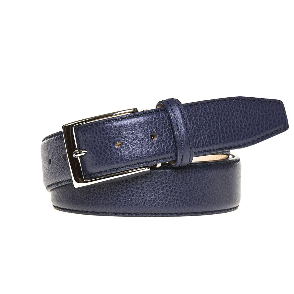 Pebble Grain Belt - Blue Jean
