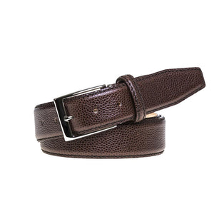 Pebble Grain Belt - Brown