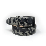 Pebble Grain Belt - Camo - Grey