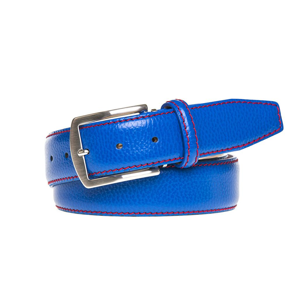 Pebble Grain Belt - New Blue