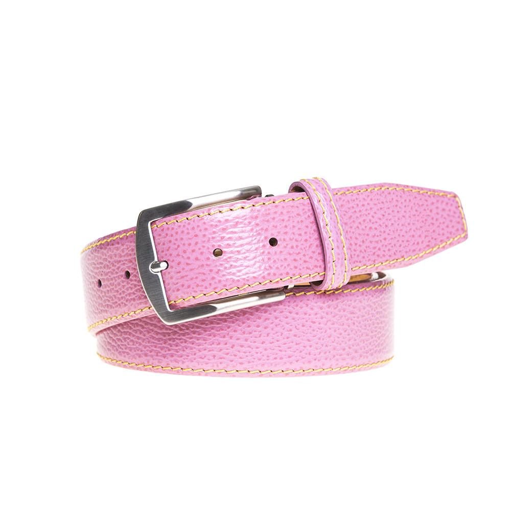 Pebble Grain Belt - Pink