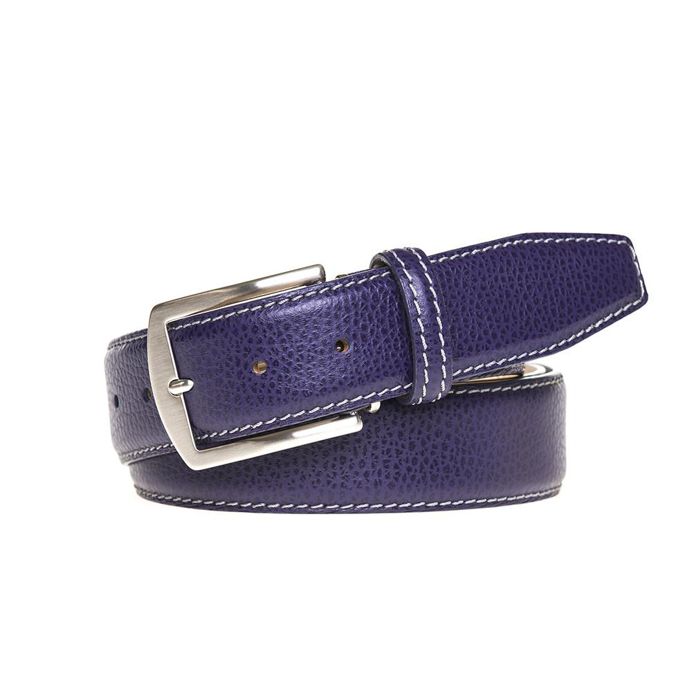 SAMPLE SALE - Pebble Grain Belt - Purple