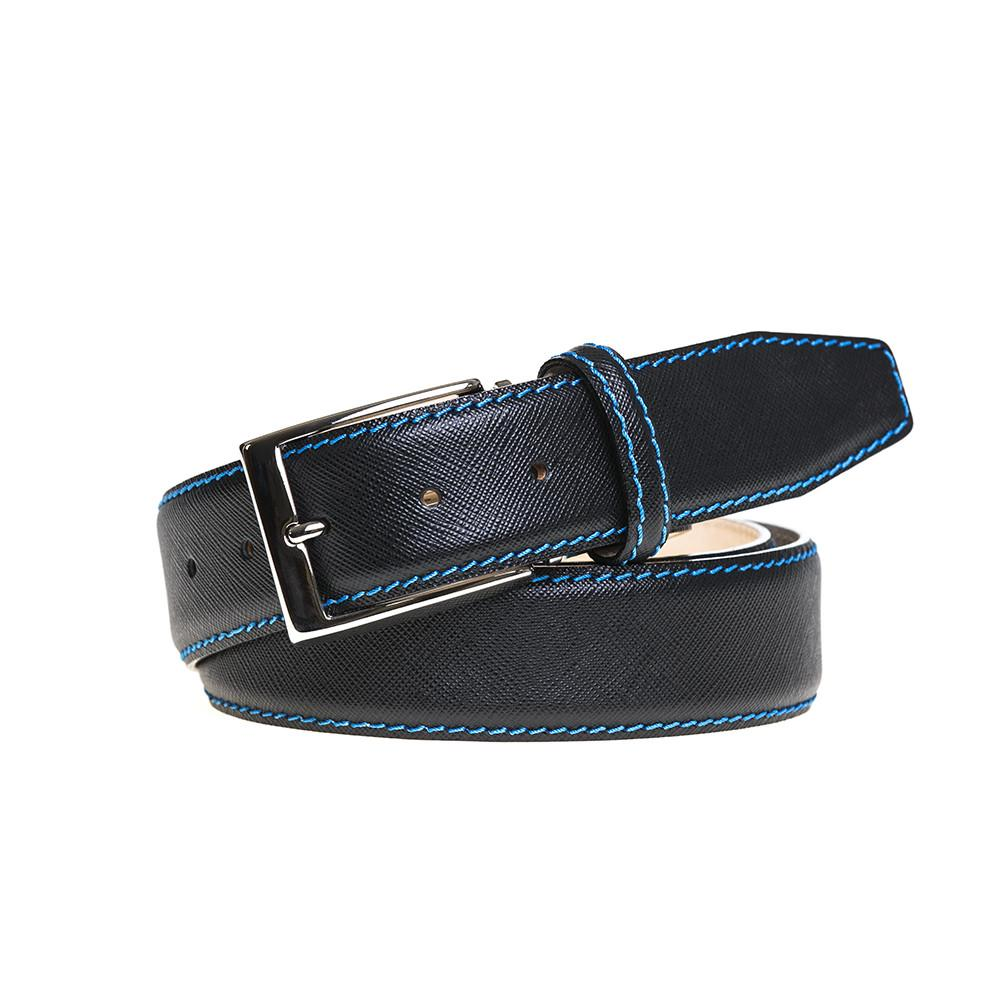Saffiano Belt - Black