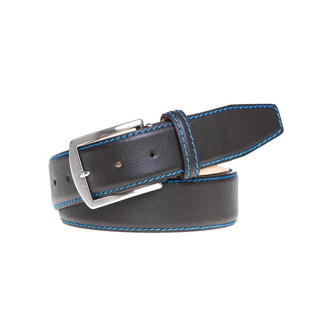 Saffiano Belt - Brown