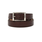 SAMPLE SALE - Faux Lizard Belt 30mm - Brown
