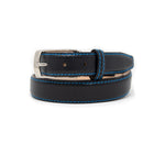 SAMPLE SALE - Pebble Grain Belt 30mm - Black