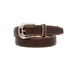 SAMPLE SALE - Pebble Grain Belt 30mm - Brown