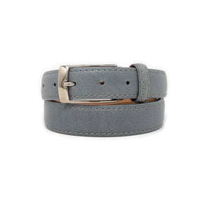 SAMPLE SALE - Pebble Grain Belt 30mm - Gray