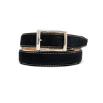 SAMPLE SALE - Suede Belt - Black