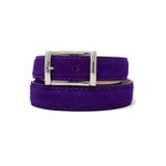 SAMPLE SALE - Suede Belt - Purple