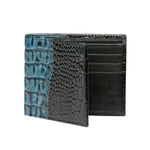 Men's Two-toned Wallet - Blue