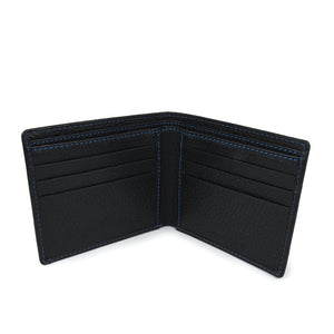 Men's Mock Alligator Wallet - Black