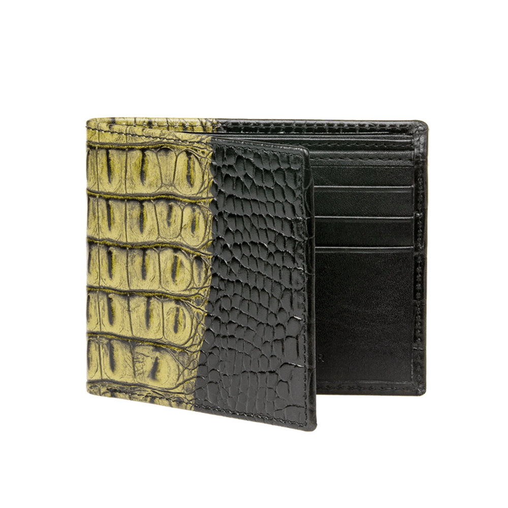 Men's Two-toned Wallet - Olive