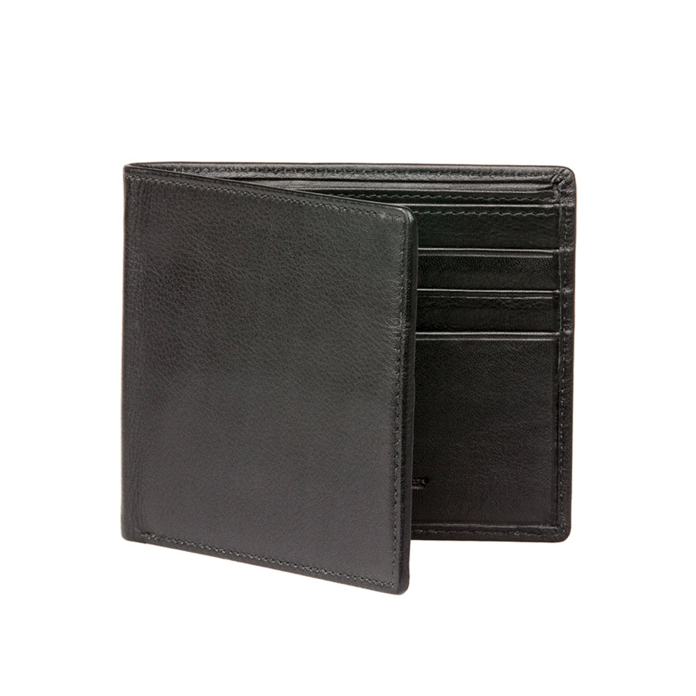 Men's Nappa Calf Wallet - Black