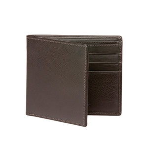 Men's Nappa Calf Wallet - Brown