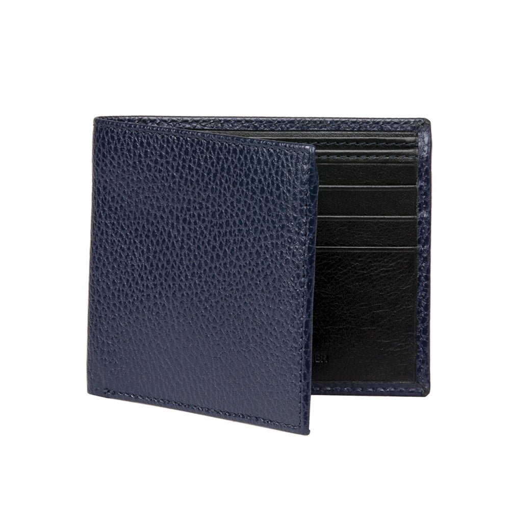 Men's Pebble Wallet - Navy