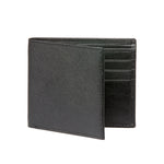 Men's Saffiano Wallet - Black