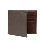 Men's Saffiano Wallet - Brown