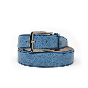 SAMPLE SALE - Pebble Grain Belt - Cobalt