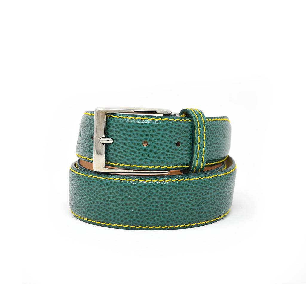 SAMPLE SALE - Pebble Grain Belt - Green