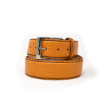 SAMPLE SALE - Pebble Grain Belt - Orange