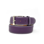 SAMPLE SALE - Saffiano Belt - Purple