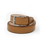 SAMPLE SALE - Saffiano Belt - Tan